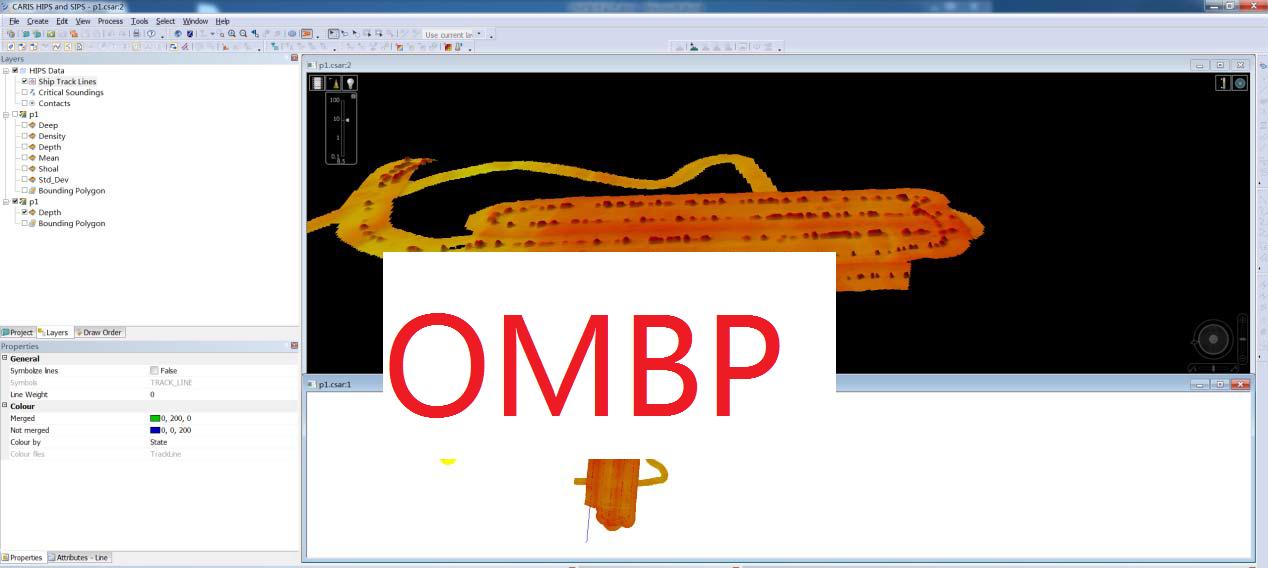多波束后处理软件(OMBP)的大纲