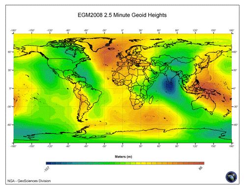 1985高程基准与全球大地水准(EGM2008)的关系综述