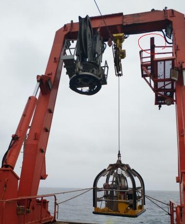 首次使用Neptune3000海底静力触探CPT记录