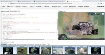 cesium加载arcgis server地图服务