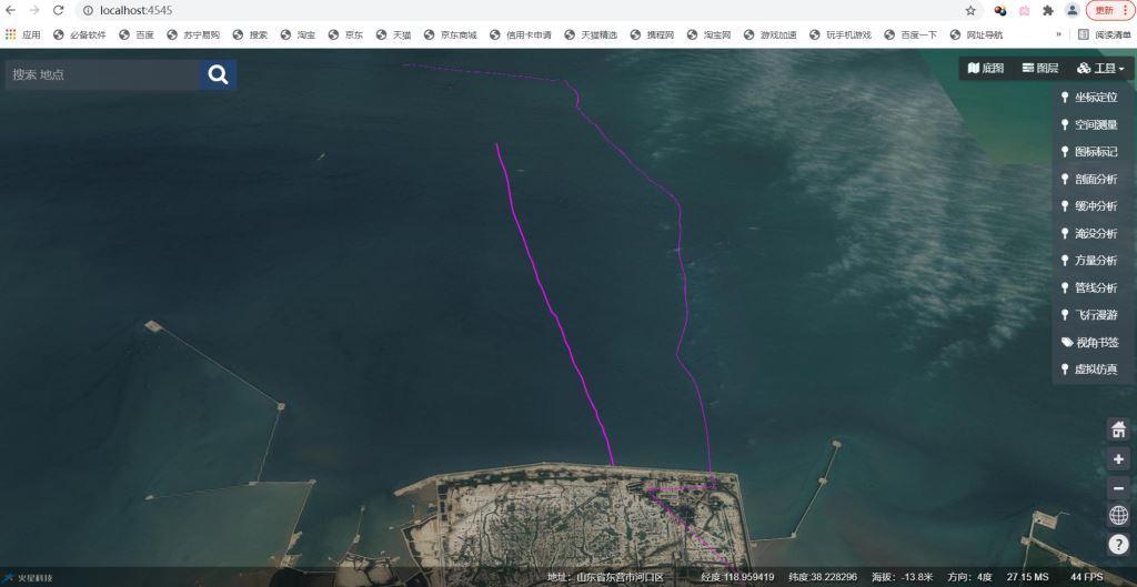 基于cesium和mars3d海洋三维管线信息系统开发完工总结